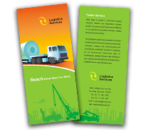 Logistics Worldwide Logistics brochure-templates
