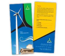 Brochure Templates wind farm