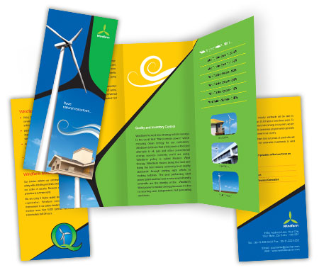 Complete Brochure  View with Layout For Wind Farm