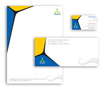 Corporate Identity Templates wind farm