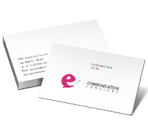 Business Card Templates Communications