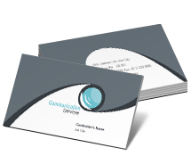 Business Card Templates communication  and technology