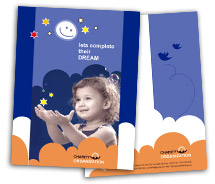 BrochureTemplates Social & Cultural Children Welfare Service One Fold