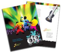 Brochure Templates rock band