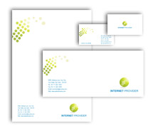 Corporate Identity Templates internet services provider