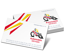 Business Card Templates automobile part