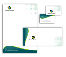 Business Business Finance Solution corporate-identity-templates
