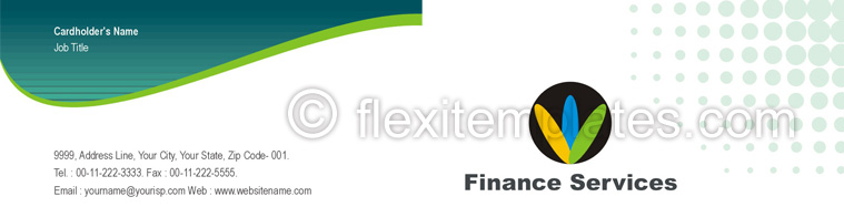 Actual Corporate Identity  Design For Business Finance Solution