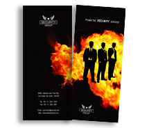 Brochure Templates fire security system