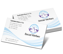 Social & Cultural Social Welfare Service business-card-templates