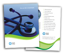 Medical Health Center brochure-templates