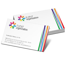Business Card Templates event management centre