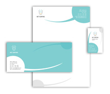 Corporate Identity Templates internet provider