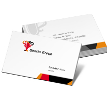 Sports Sports Group business-card-templates