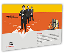 Post Card Templates legal services