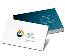 Business Card Templates online legal services
