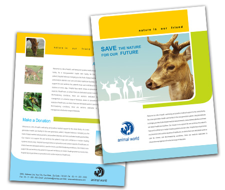 Complete Brochure  View with Layout For Wild Life Parks