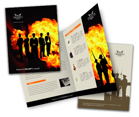 Complete Brochure  View with Layout For Fire Security System