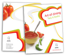 Brochure Templates asian food online