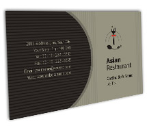 Business Card Templates Hotels Asian Hotel