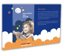 Post Card Templates Social & Cultural Children Welfare Service