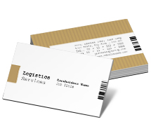 Logistics Transport Service business-card-templates