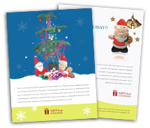 Social & Cultural Christmas Gift brochure-templates