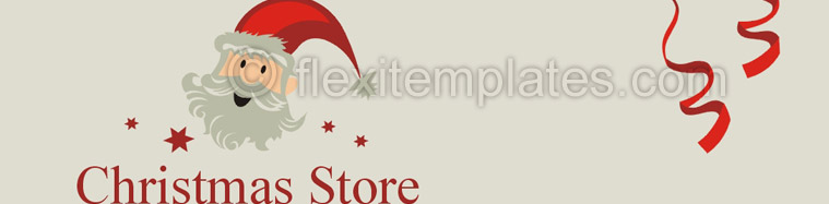 Actual Corporate Identity  Design For Christmas Store