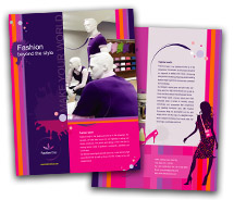 Brochure Templates new fashion shop