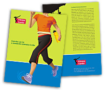 Sports Fitness Center brochure-templates