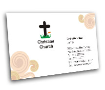 Business Card Templates Christian Churches