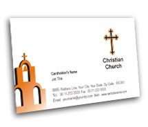Business Card Templates Christian Churche