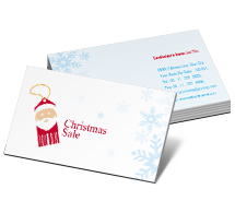 Business Card Templates Stores & Shops Christmas Ideas