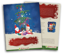 Stores & Shops Christmas Gift Shop brochure-templates