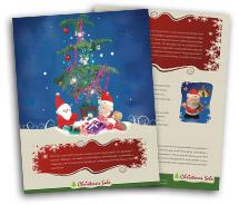 Brochure Templates christmas gift shop