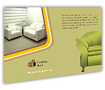Post Card Templates the furniture stores