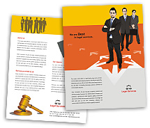 BrochureTemplates Business Legal Services Single Page