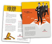 Brochure Templates legal services