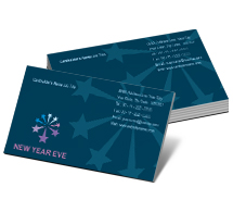 Business Card Templates Stores & Shops New Years Sales