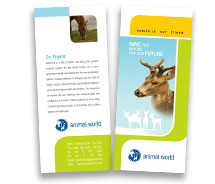 BrochureTemplates Animal & Pets Wild Life Parks Two Fold