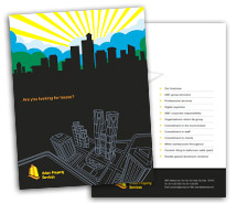 Brochure Templates Construction Urban Properties