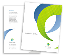 Brochure Templates landscape design