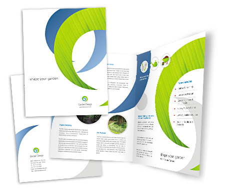 Complete Brochure  View with Layout For Landscape Design