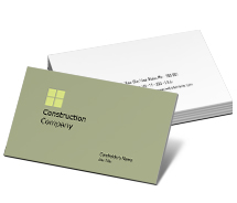 Business Card Templates tower construction companies
