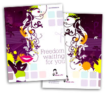 Brochure Templates hair and beauty salon