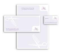 Corporate Identity Templates hair  beauty salon