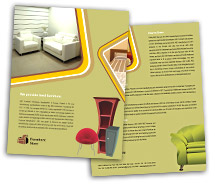 Brochure Templates Architecture Furniture Store