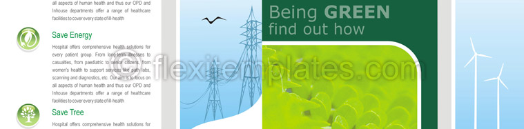 Actual Brochure  Design For Green Energy