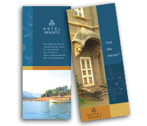 Hotels Heritage Hotel brochure-templates