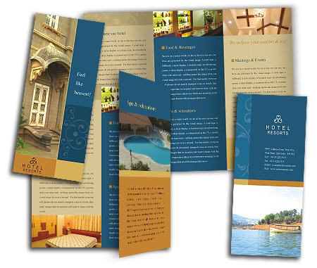 Complete Brochure  View with Layout For Heritage Hotel